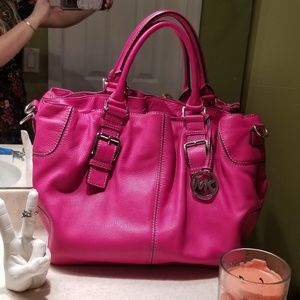 Michael Kors, Large Hot Pink Tote Purse